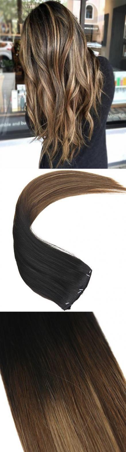 Haarverlängerungen Clip in Highlights Blond 68+ Ideen für 2019 #Haar - # HaarverlängerungenDunkel # HaarverlängerungenLogo