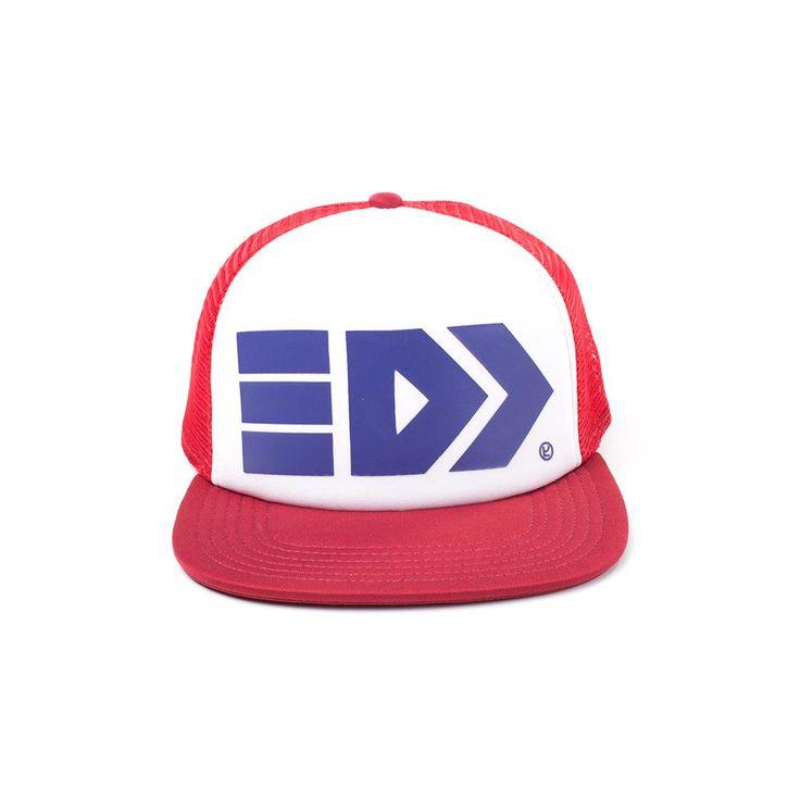 Nintendo Nintendo - Splatoon Takoroka snapback trucker pet rood/wit -
