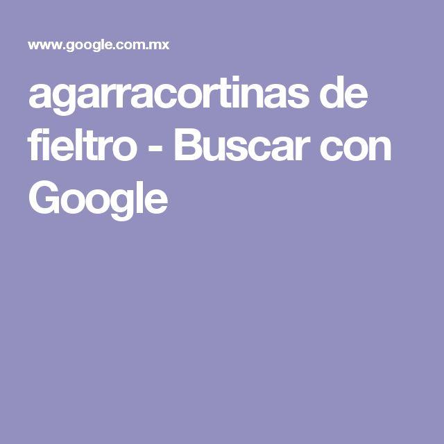 agarracortinas de fieltro - Buscar con Google