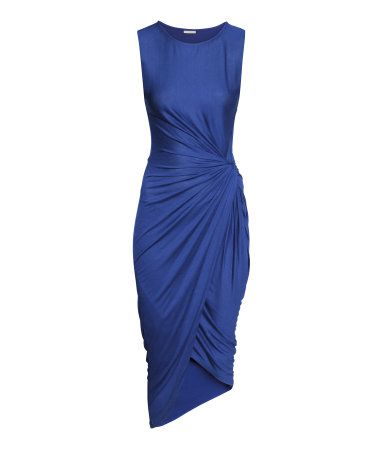 H&M Draped Dress $20
