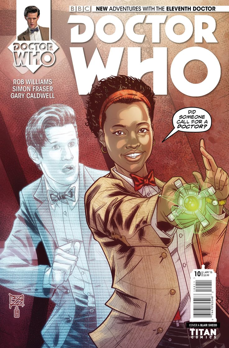 Art Preview for Doctor Who: The Eleventh Doctor #10
