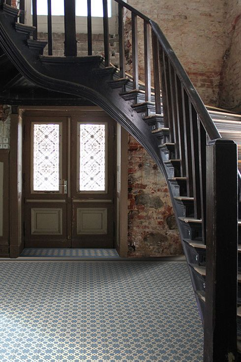 sold by Golem. Tiles. old staircase, tiled hallway