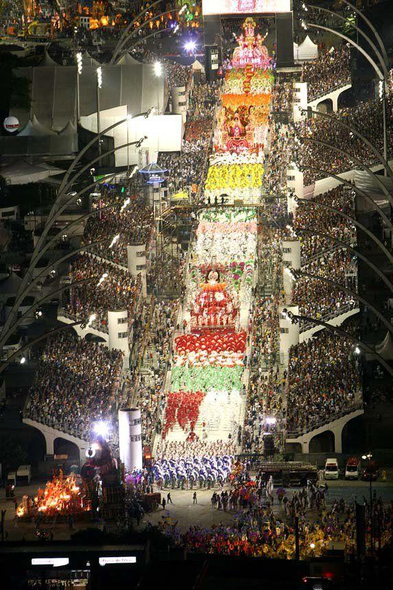 Carnaval in Sao Paulo NOT Rio de Janeiro, 2015.