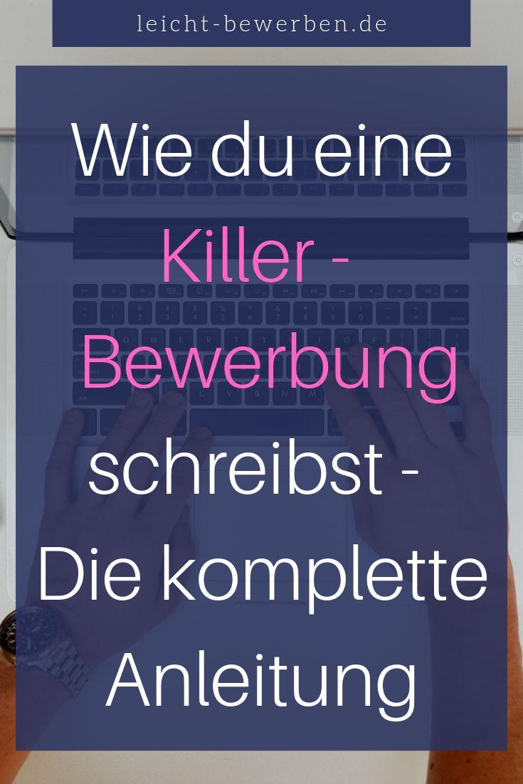 Killer – Bewerbung schreiben