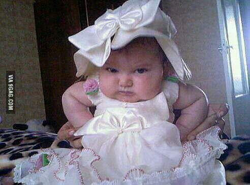 I am not amused!!