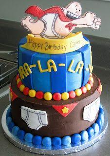 Captain Underpants cake