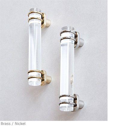 Acrylic Rod Pull Handle Product DF 93 Charles Edwards