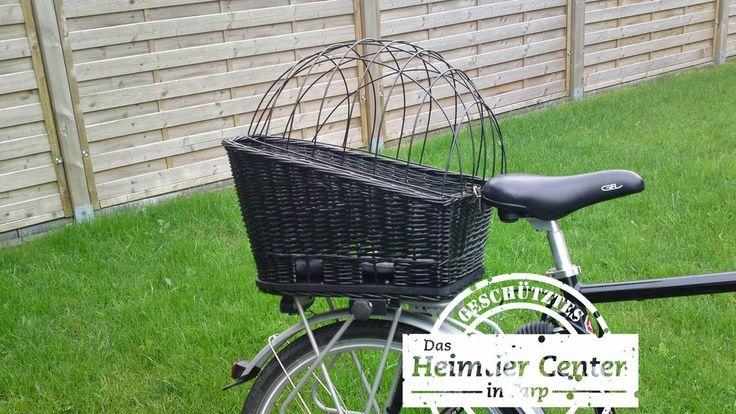 Bicycle Basket Dog Basket XL 35x49x55cm for rear luggage