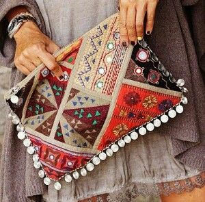 Hippie bag.