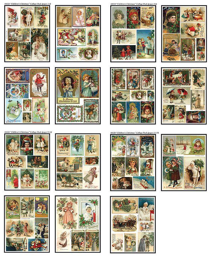 miniatures Christmas cards Miniatuur kerstkaarten                                                                                                                                                                                 More