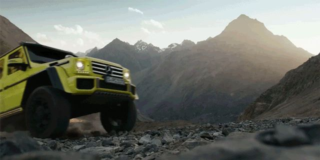 Watch Mercedes' crazy-nuts G-Wagen stomp on everything  - RoadandTrack.com