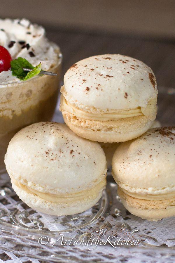 Baileys Irish Cream Macarons!