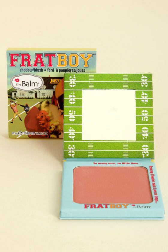 The Balm Frat Boy Peach Shadow Blush at Lulus.com!