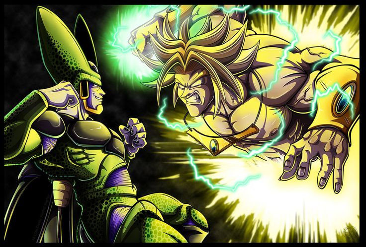 It could have happened. >__> The first Broly movie does take place during the 9 days prior to the Cell Games. Too bad it wasn't canon. I'd love to see these two duke it out.