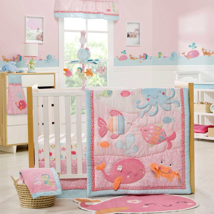 Under The Sea Baby Crib Bedding by Carters
