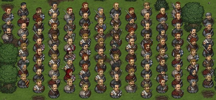 Where is Waldo Battle Brothers edition! The new character generator in action #screenshotsaturday #indiegame
