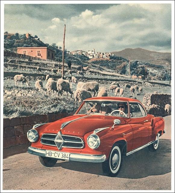 Borgward Isabella Coupe via MisterBenz
