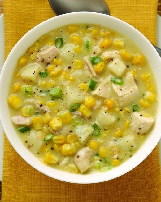 Southwestern Corn Chowder Recipe Soups Pinterest Soup