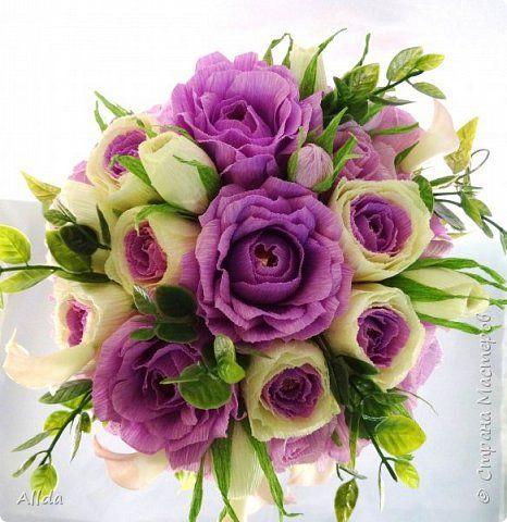 Свит-дизайн День рождения Моделирование конструирование И на скалах растут цветы   Бумага гофрированная фото 13
