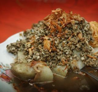 Lontong Kupang makanan khas kota surabaya #pinyourcity Contest: I Love Surabaya