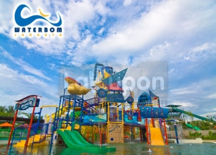 Vouchers : Tiket masuk Waterboom Pantai Indah Kapuk disc. 55%Off by. LaKupon.com