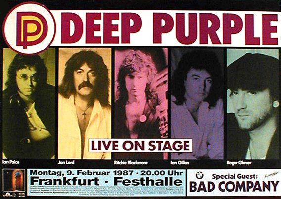 Deep Purple, Bad Company '87