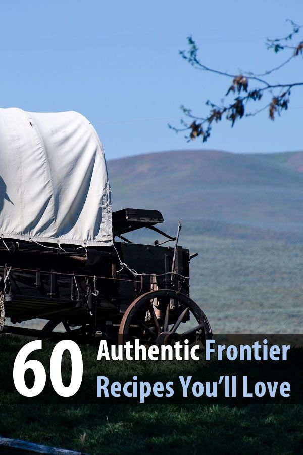 During a long-term disaster, many people will have to cook simple recipes from scratch. Recipes like these 60 that the pioneers made on the frontier.