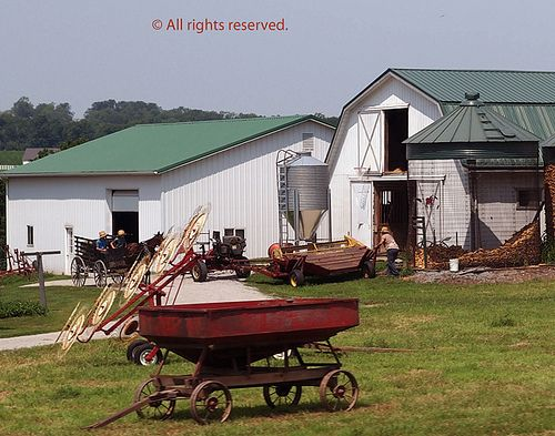 Amish Farm Equipment