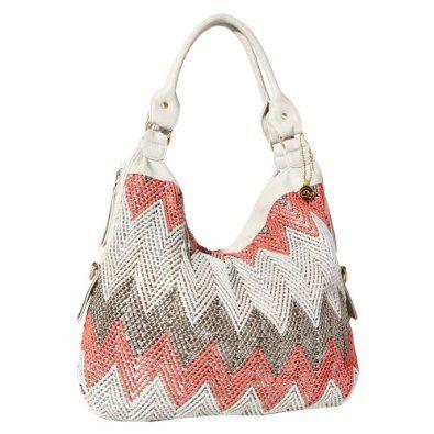 Big Buddha Courtny Hobo Handbag (Coral),$94.95