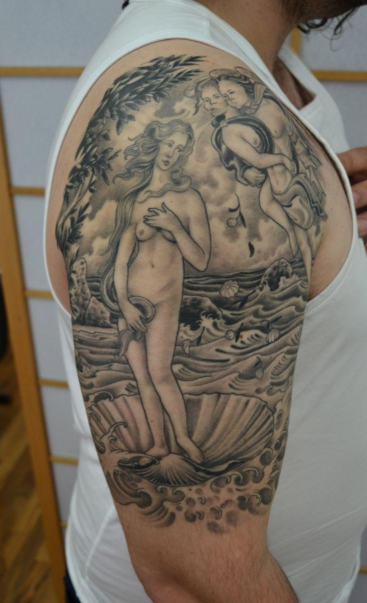 birth of venus tattoo - Google Search