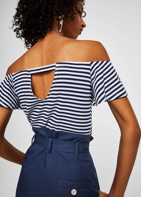 promo code 505ba fa2d3 T-shirts and tops for Women 2018 | MANGO USA | Kristina Shop ...