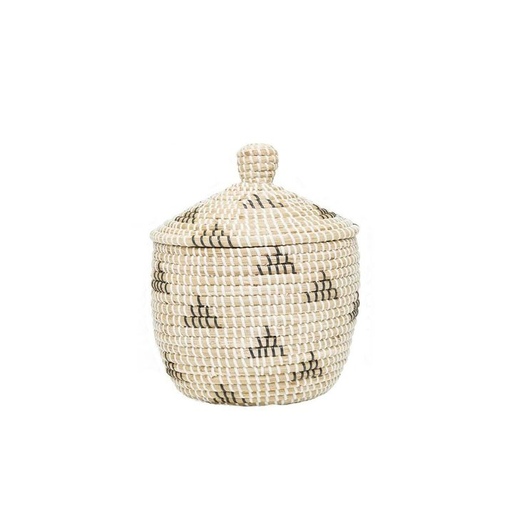 olli ella mini teepee basket  / Stylish nursery decor / Office basket storage / www.peppapenny.com