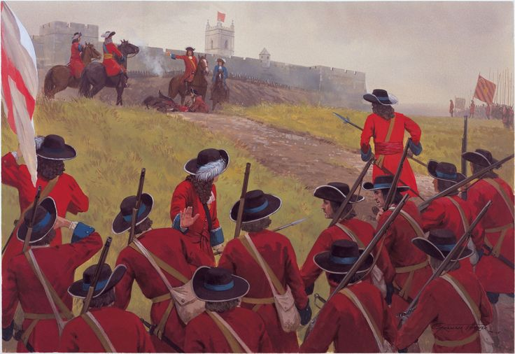 battle of the boyne regiments