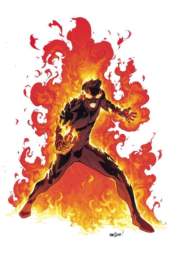 Human Torch A Closer Look At The All New, All Different Marvel