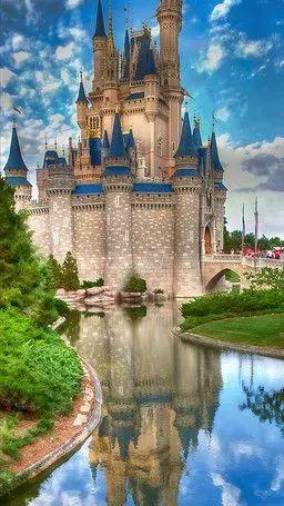 Hamupipőke kastély Walt Disney World, Florida Orlando USA