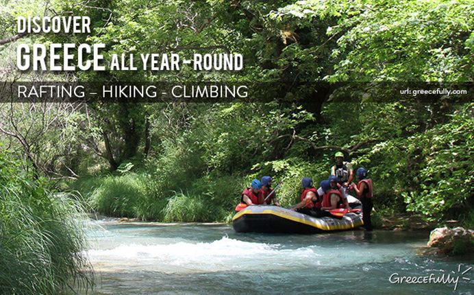 Explore the thrills of rafting, hiking, climbing that will awaken your senses in this diverse playground.  www.greecefully.com
