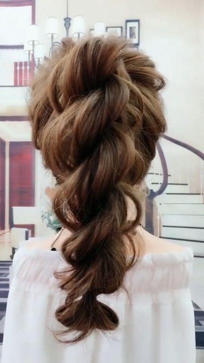 Long Hair Braid Ponytail Hairstyle Tutorial for the perfect Braided Ponytail #braidedhairstyles #braids #ponytail #hairstyles
