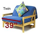 Twin Futon Mattress Cover Measurements