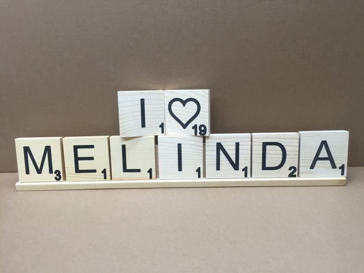 Large Scrabble Tiles Who doesn't love scrabble? Make your own words with scrabble blocks. Engraved scrabble pieces