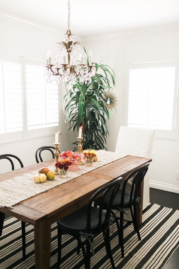 17 best ideas about fall dining table on pinterest blue for Dining room table decorating ideas for fall