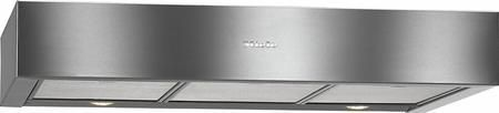 """DA1180 30"""" Under-Cabinet Range Hood with 400 CFM 4 Fan Speeds Halogen Lighting Sliding Switch Control and Convertible To Recirculating in Stainless Steel"""