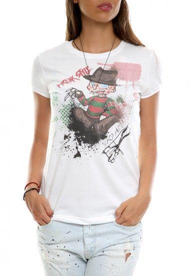 freak style white #vagrancylifestyle #handmade #tshirt #woman