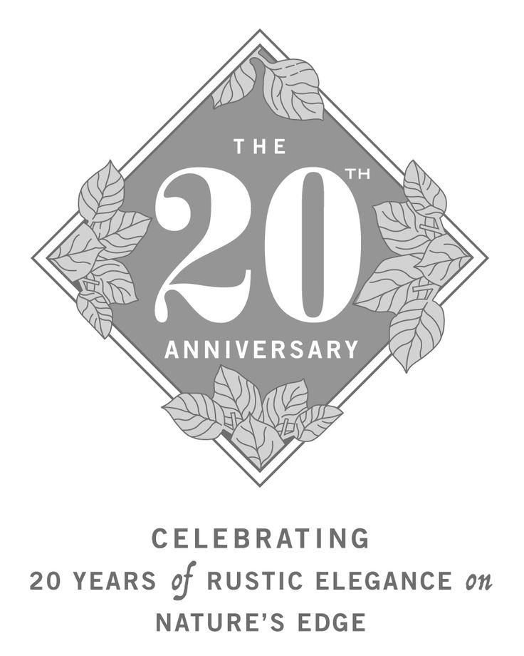 We're celebrating 20 years!