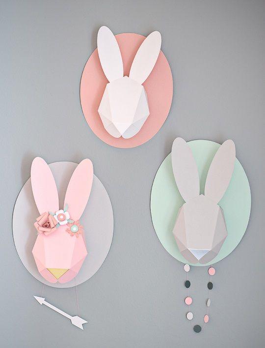 Gris con toques de rosa, una combinación ideal : Más ideas para decorar una habitación de bebé niña usando el rosa, lejos de crear un ambiente tracional, esta combinación es moderna y original. Una pared