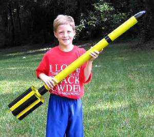 Image of Aerospace Speciality Products That Tube Rocket (29mm) Model Rocket Kit