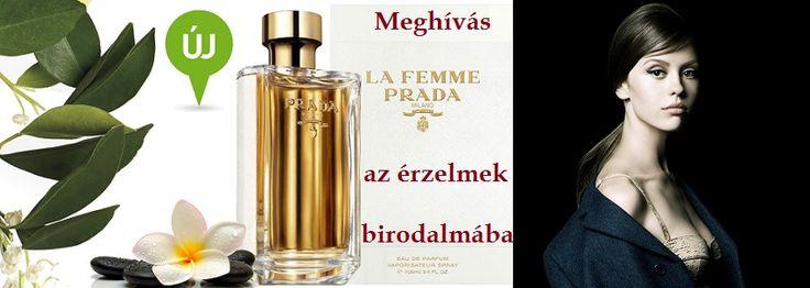 Prada La Femme női parfüm  A La Femme Prada meghívás az érzelmek birodalmába. Az új illat ismeretlen útra vezet, a megszokottól eltérő világba a Frangipani (Templomfa - Nyugatindiai jázmin - Plumeria) segítségével. Ez egy rendkívül érzéki szoláris jegy, amely távoli világba repít harmatos frissességével. Ez a jegy keveredik a Ylang-Ylang-gal, és az illatkompozíciónak a méhviasz, a vanília és a tubarózsa kölcsönöz finomságot. Desztillált vetiverfű teszi teljessé. A kampányhoz a legújabb…
