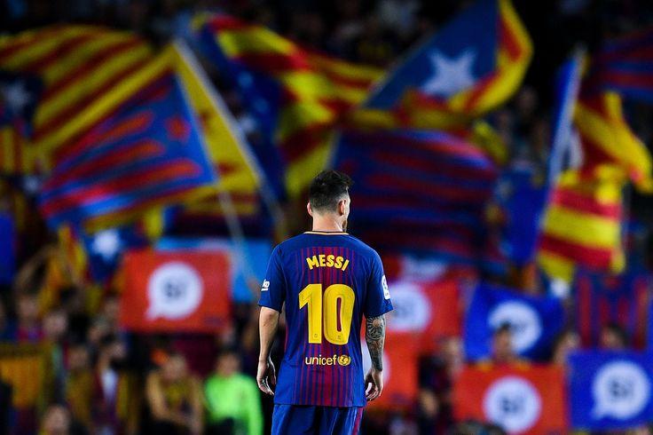 Lionel Messi Catatkan Rekor 300 Gol Di Camp Nou
