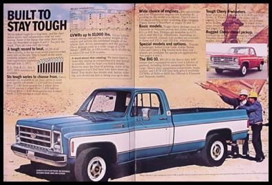 1979 Chevrolet Chevy Pickup Truck Brochure | eBay
