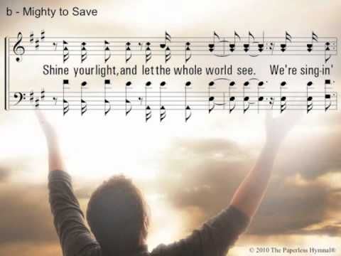 Mighty to Save - YouTube | Acapella Hymns in 2019 | Music