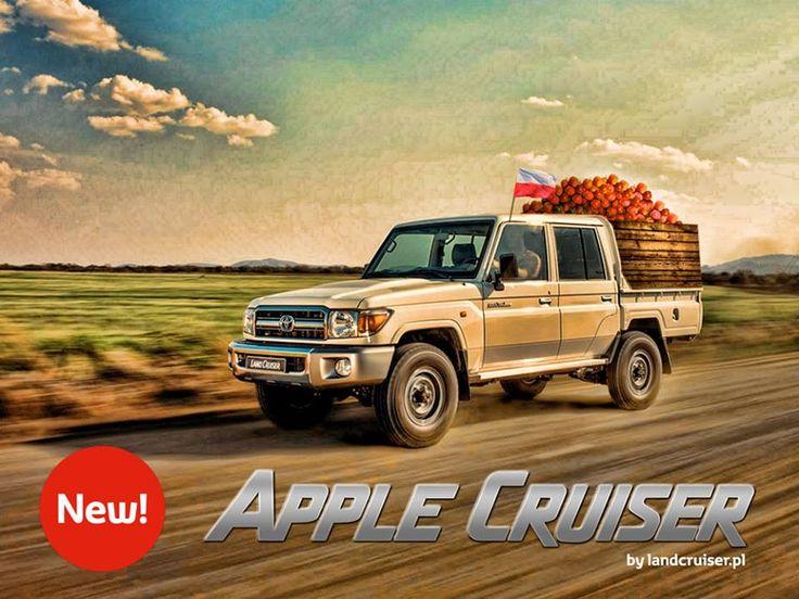 Apple Cruiser - producenci samochodów też wiedzą jak wykorzystać RTM